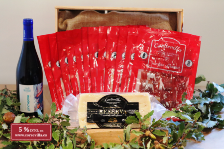 jamón de bellota loncheado navidad
