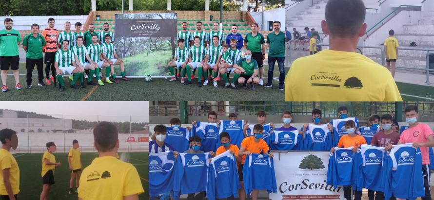 equipos fútbol patrocinados por CorSevilla