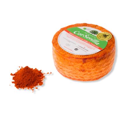 queso con pimentón