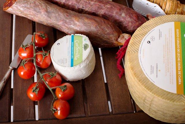 queso fresco y queso curado